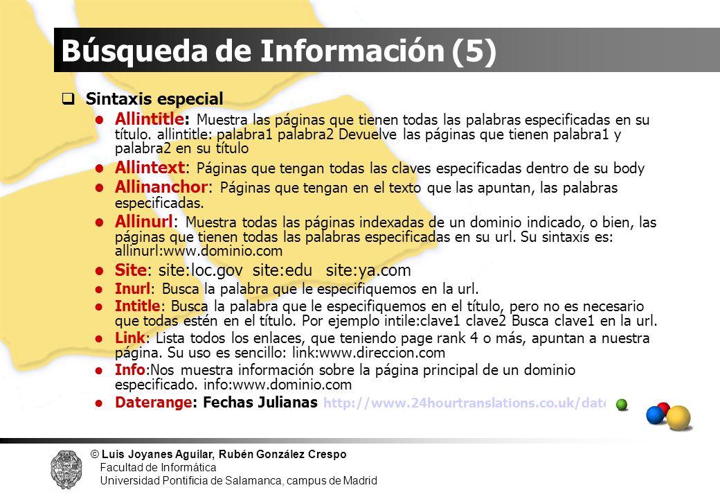 Búsqueda de Información (5)