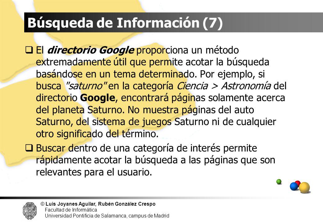 Búsqueda de Información (7)