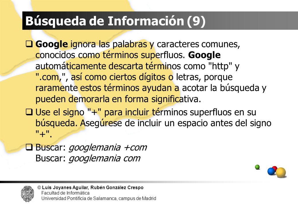 Búsqueda de Información (9)