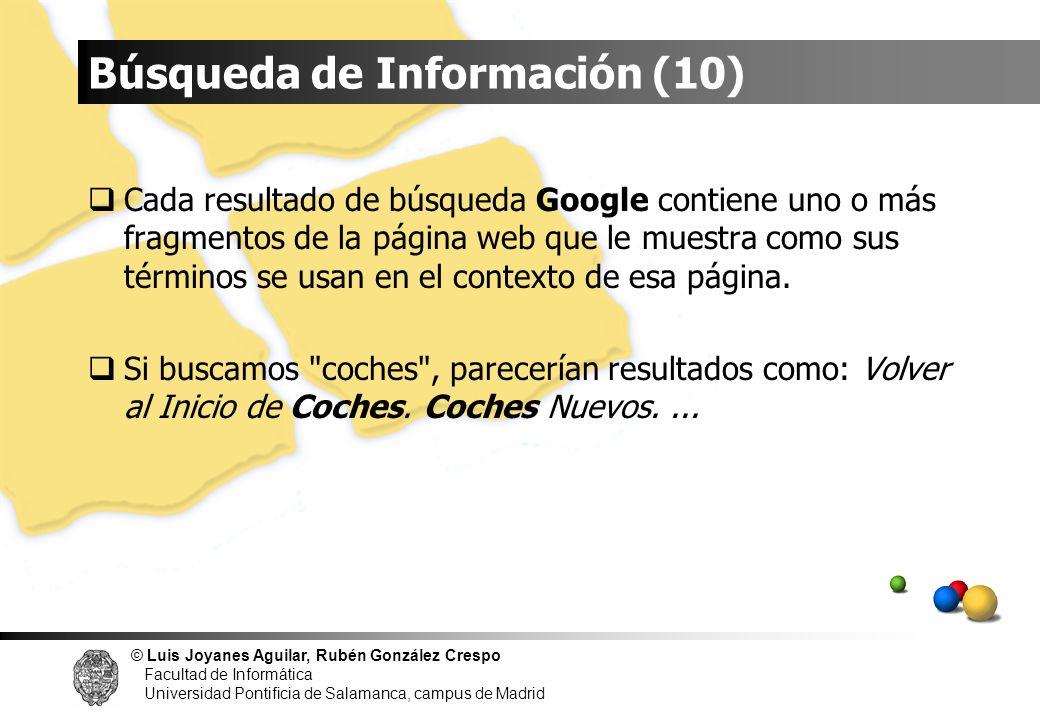 Búsqueda de Información (10)