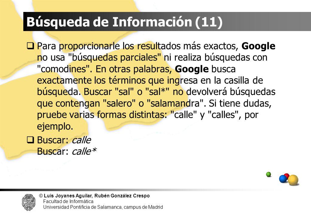 Búsqueda de Información (11)