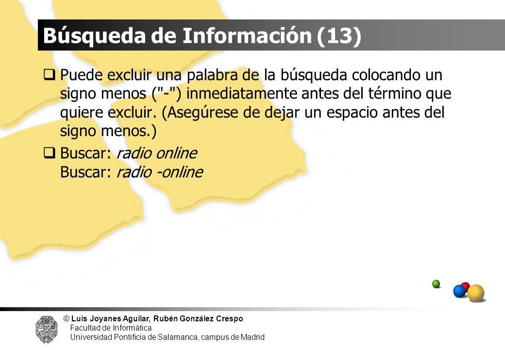 Búsqueda de Información (13)