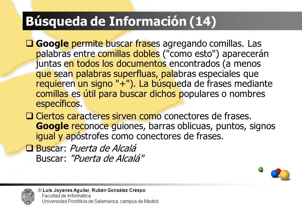 Búsqueda de Información (14)