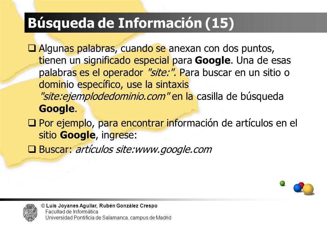 Búsqueda de Información (15)