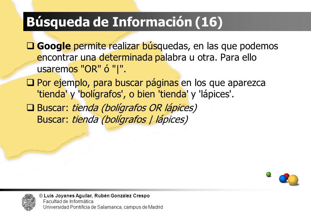 Búsqueda de Información (16)