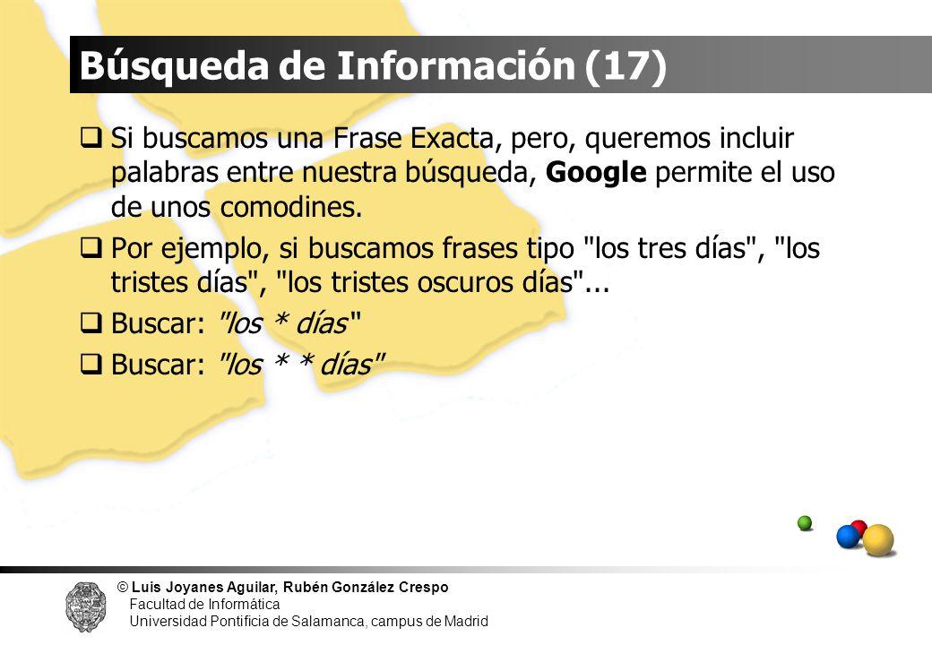 Búsqueda de Información (17)