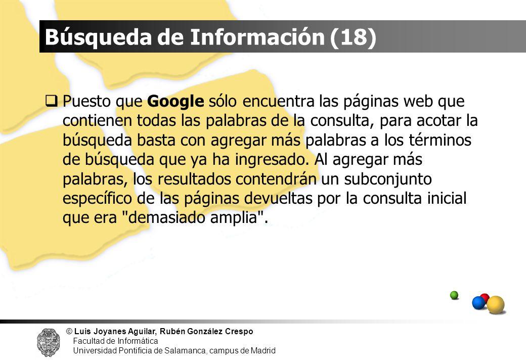 Búsqueda de Información (18)