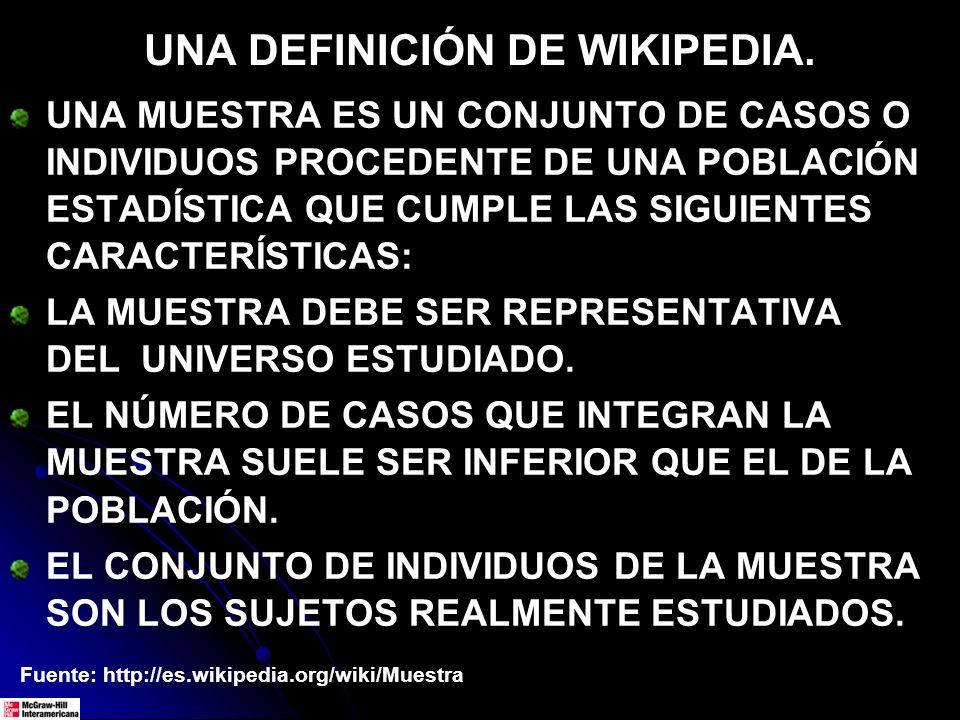 UNA DEFINICIÓN DE WIKIPEDIA.