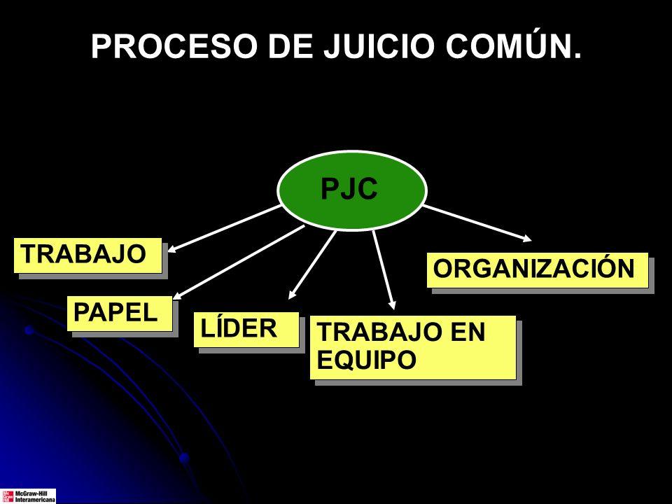 PROCESO DE JUICIO COMÚN.