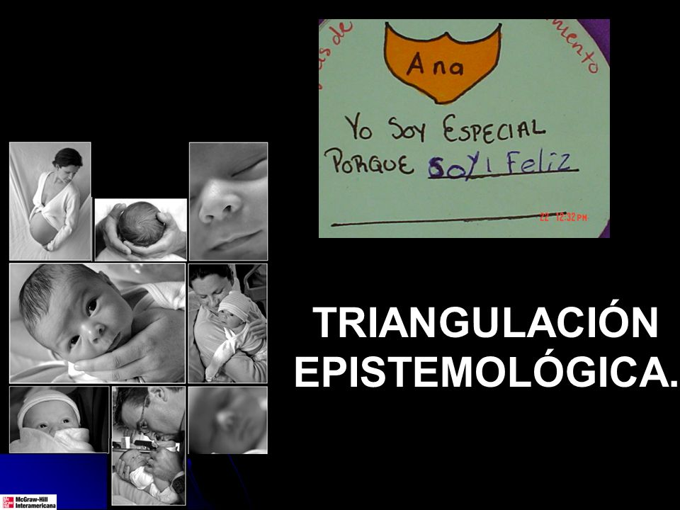 TRIANGULACIÓN EPISTEMOLÓGICA.
