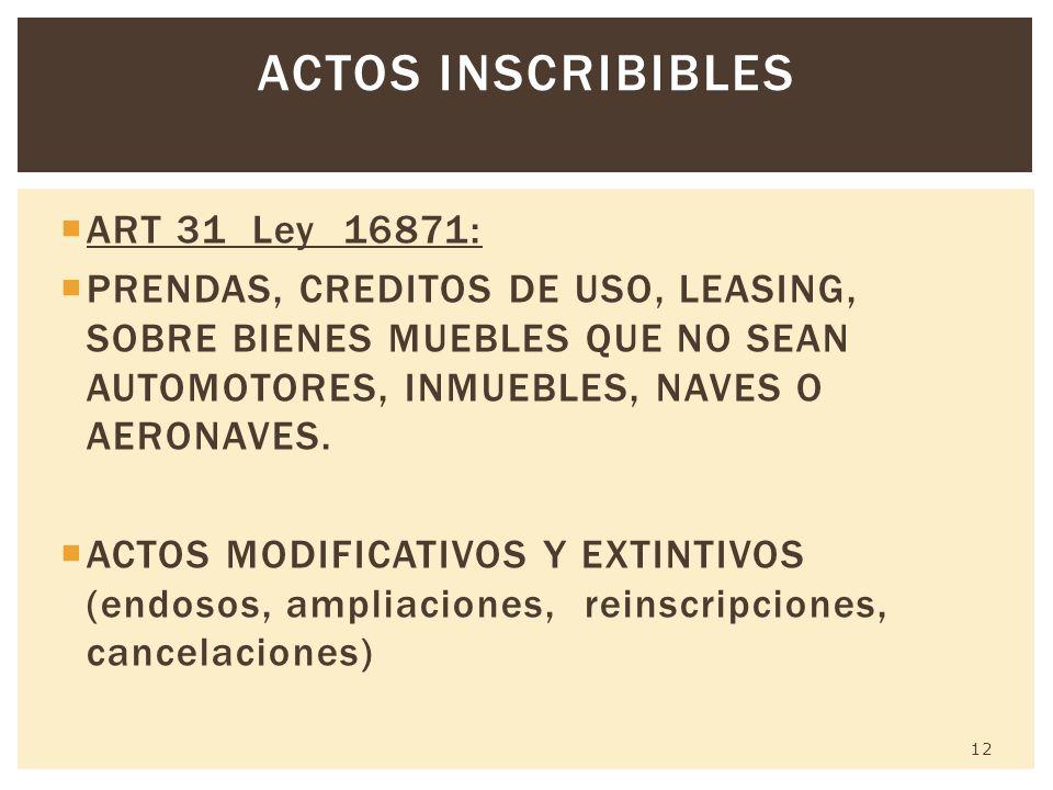 Registro de la propiedad secci n mobiliaria registro de for Registro de bienes muebles central