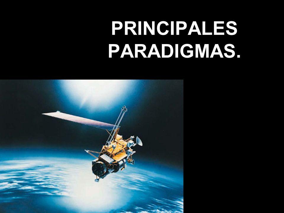 PRINCIPALES PARADIGMAS.