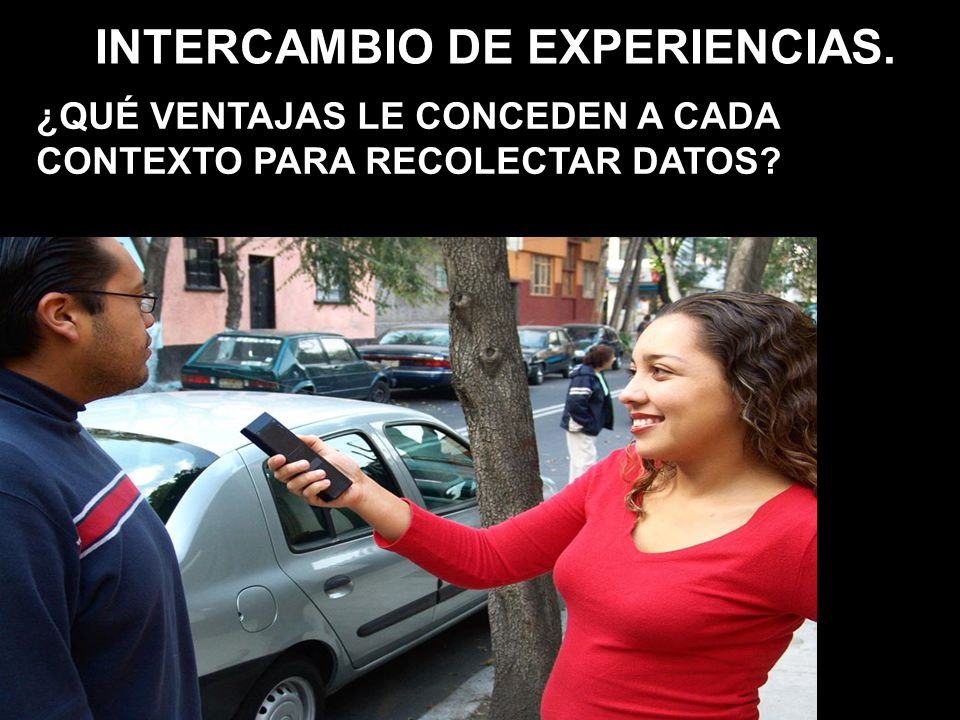 INTERCAMBIO DE EXPERIENCIAS.