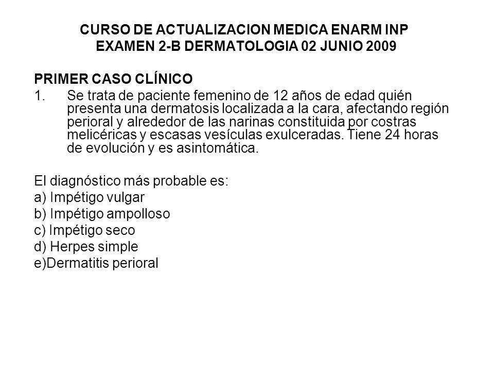 CURSO DE ACTUALIZACION MEDICA ENARM INP
