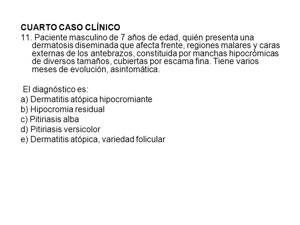 CUARTO CASO CLÍNICO