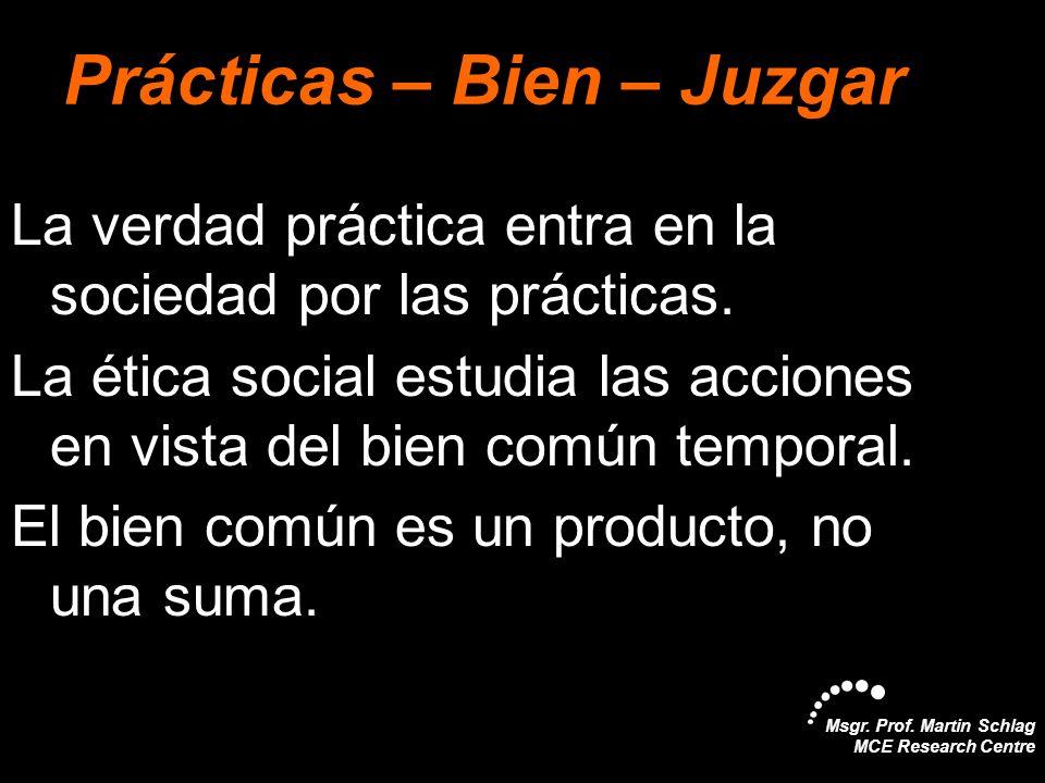Prácticas – Bien – Juzgar