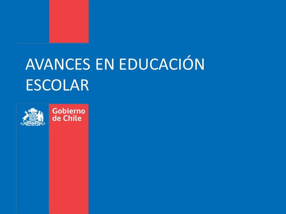 AVANCES EN EDUCACIÓN ESCOLAR