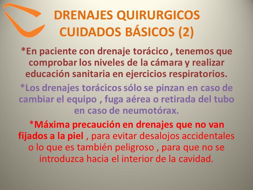 DRENAJES QUIRURGICOS CUIDADOS BÁSICOS (2)