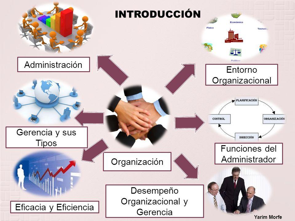INTRODUCCIÓN Administración Entorno Organizacional