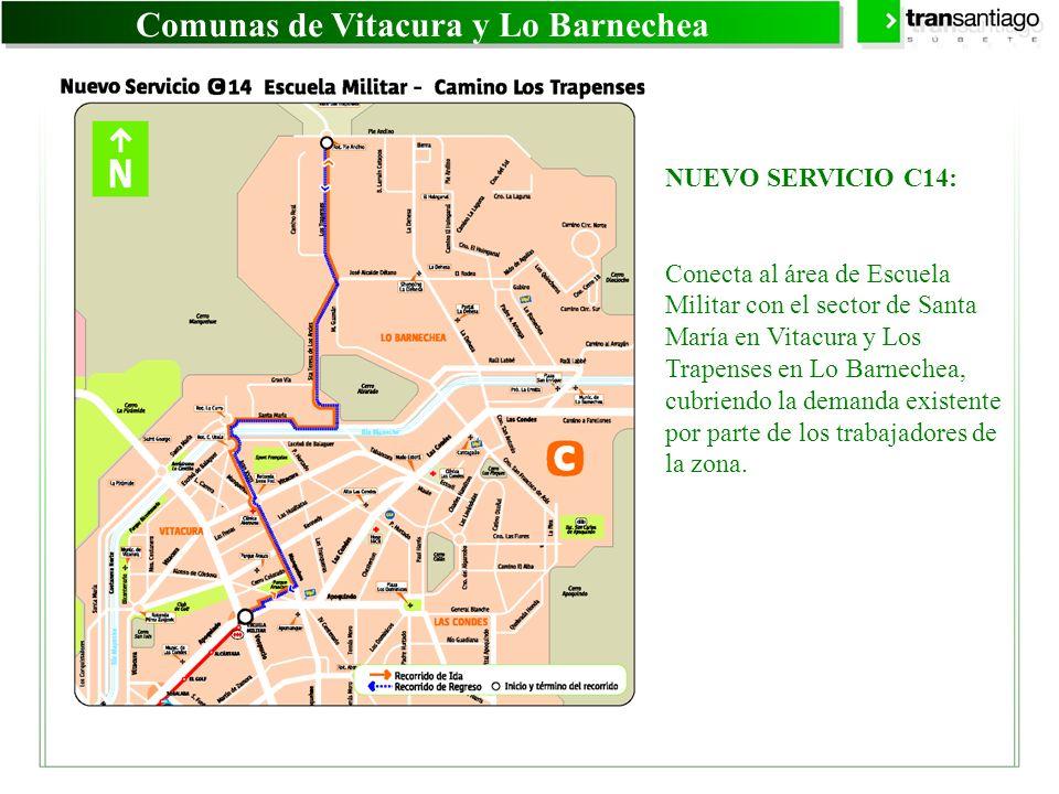 Comunas de Vitacura y Lo Barnechea