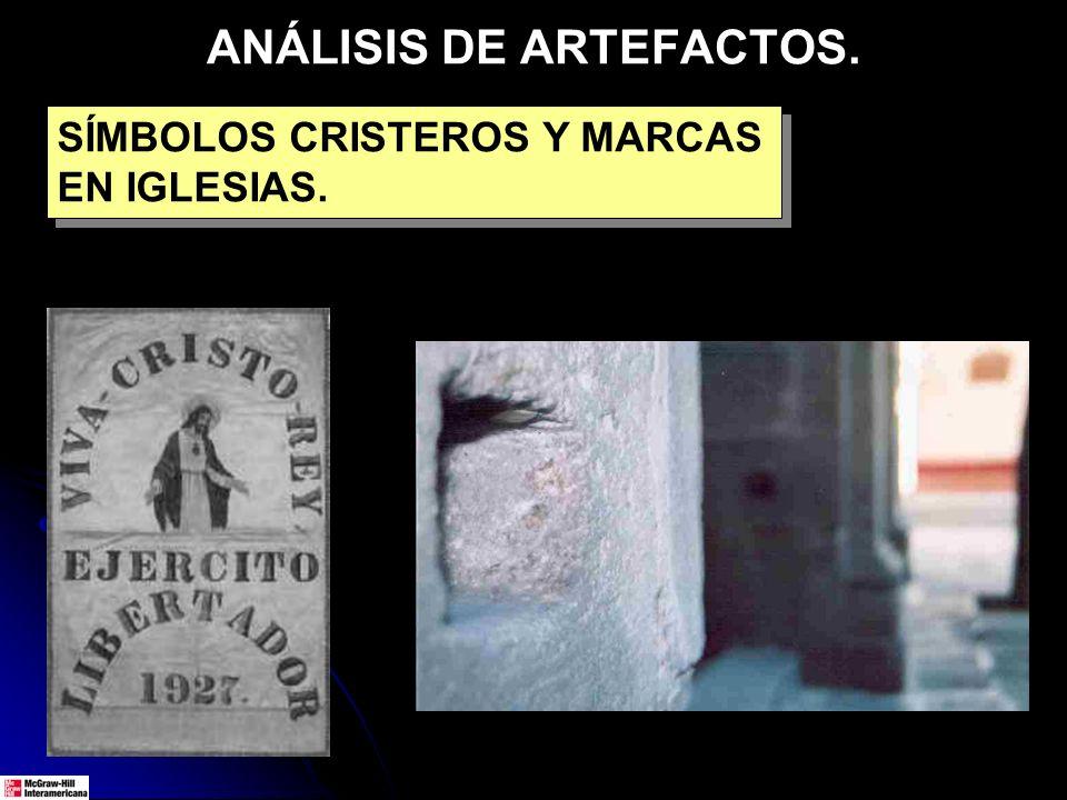 ANÁLISIS DE ARTEFACTOS.