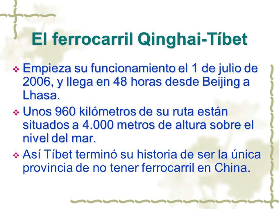 El ferrocarril Qinghai-Tíbet