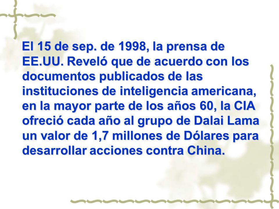 El 15 de sep. de 1998, la prensa de EE. UU