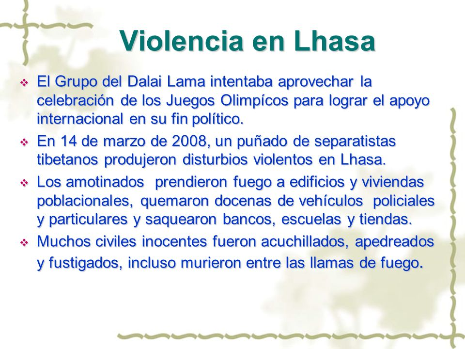 Violencia en Lhasa