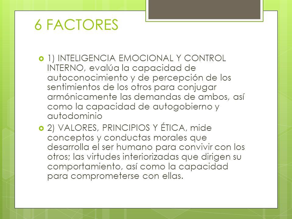 6 FACTORES