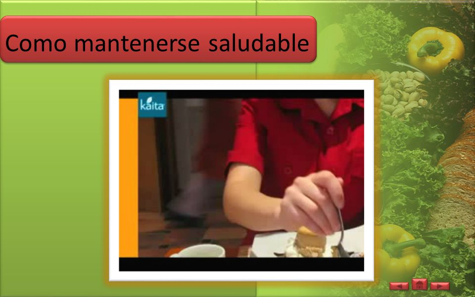 Como mantenerse saludable