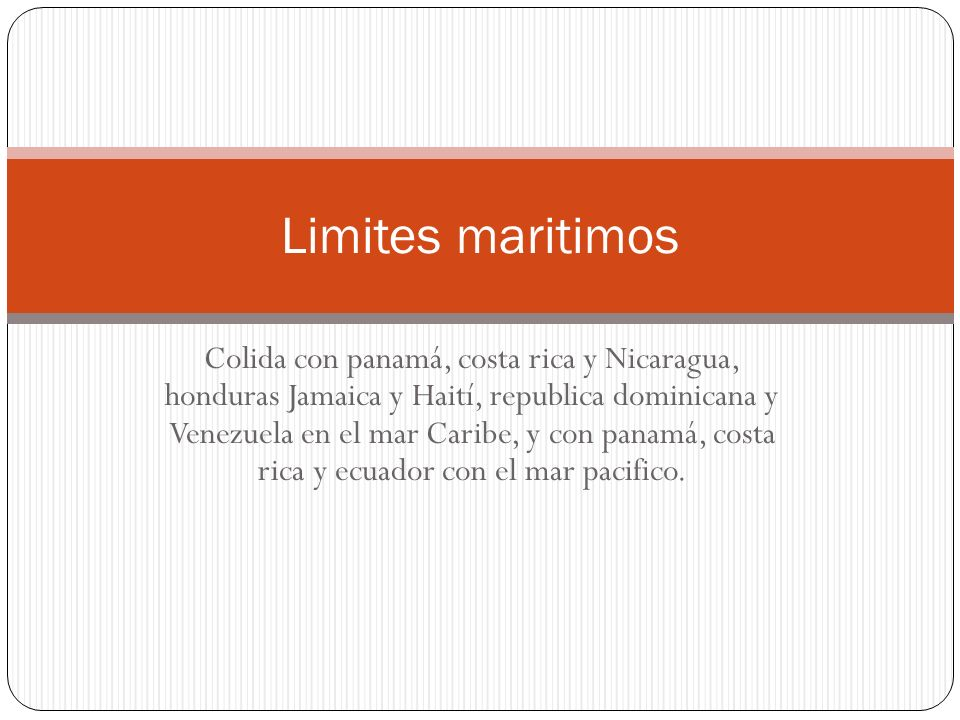 Limites maritimos