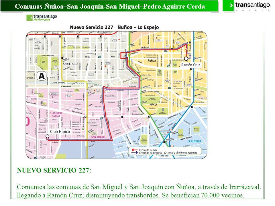 Comunas Ñuñoa–San Joaquín-San Miguel–Pedro Aguirre Cerda
