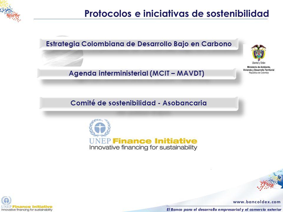Protocolos e iniciativas de sostenibilidad