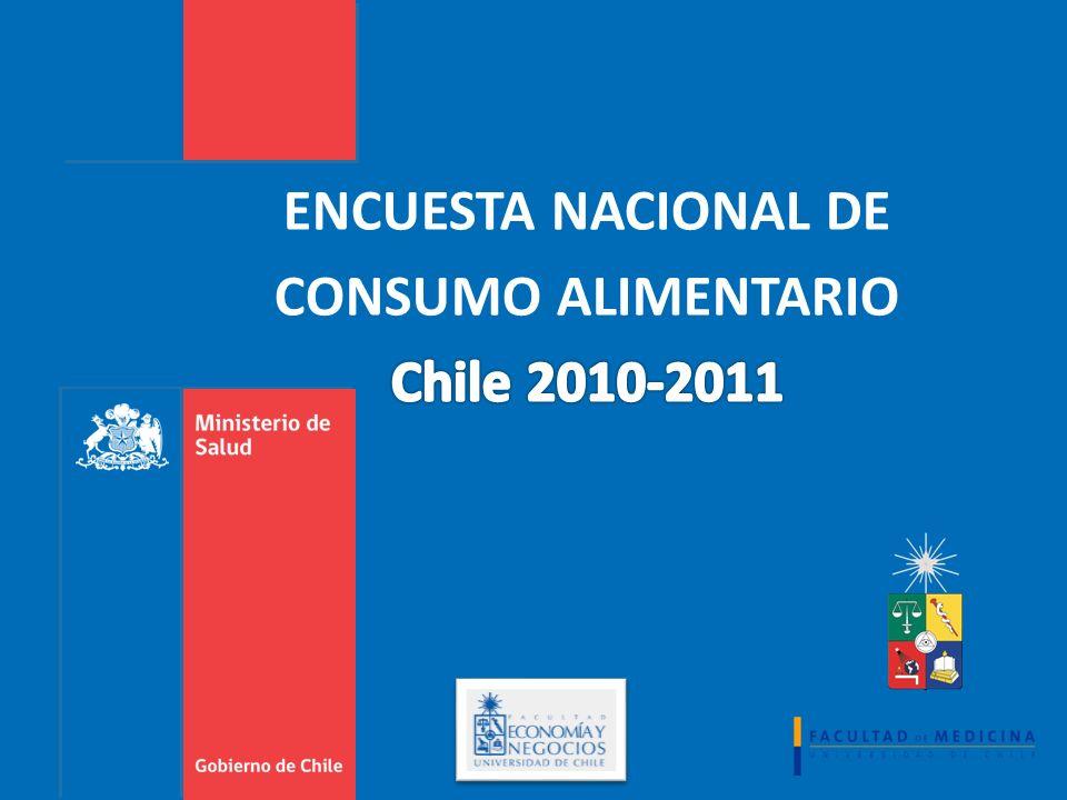ENCUESTA NACIONAL DE CONSUMO ALIMENTARIO Chile 2010-2011