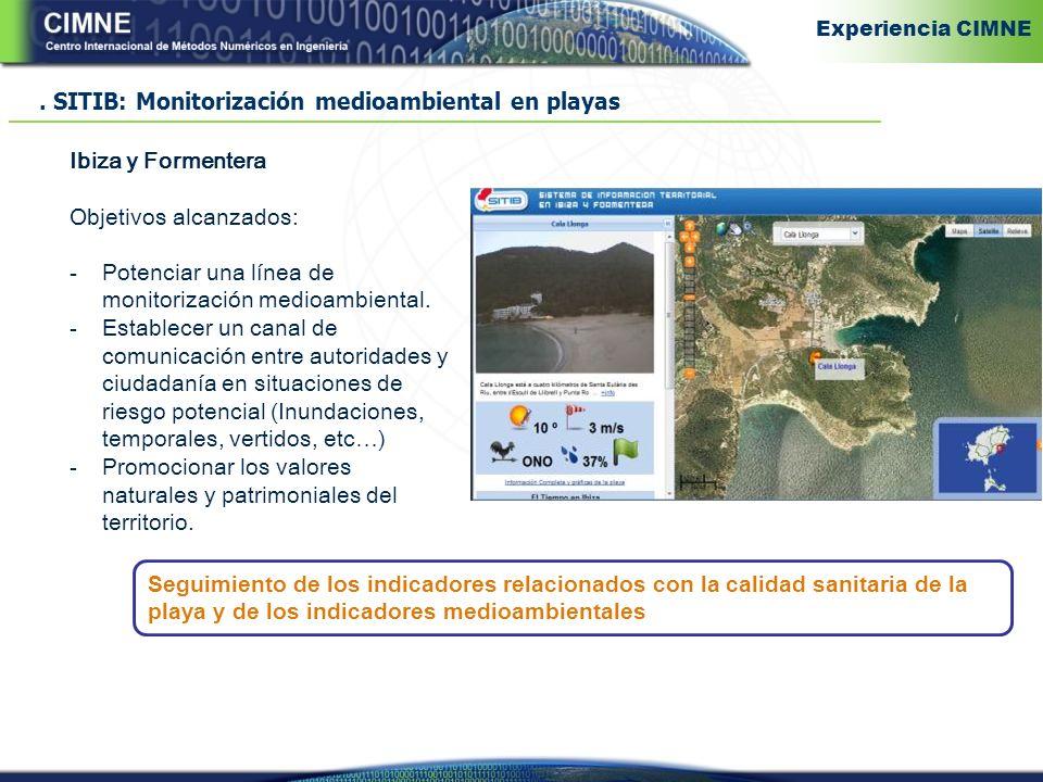 . SITIB: Monitorización medioambiental en playas
