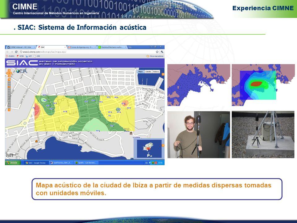 . SIAC: Sistema de Información acústica