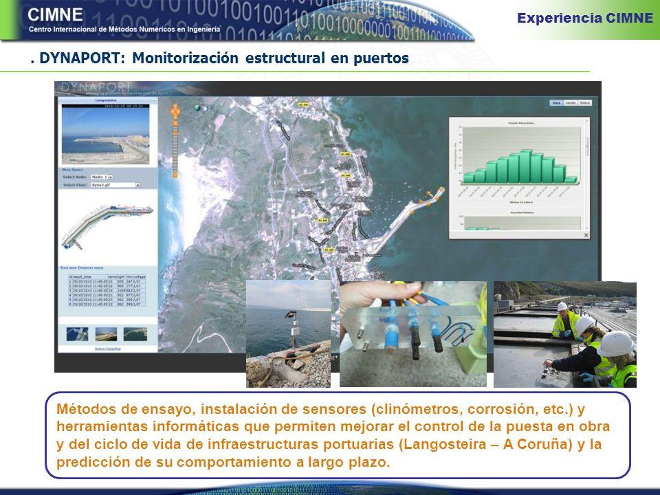 . DYNAPORT: Monitorización estructural en puertos
