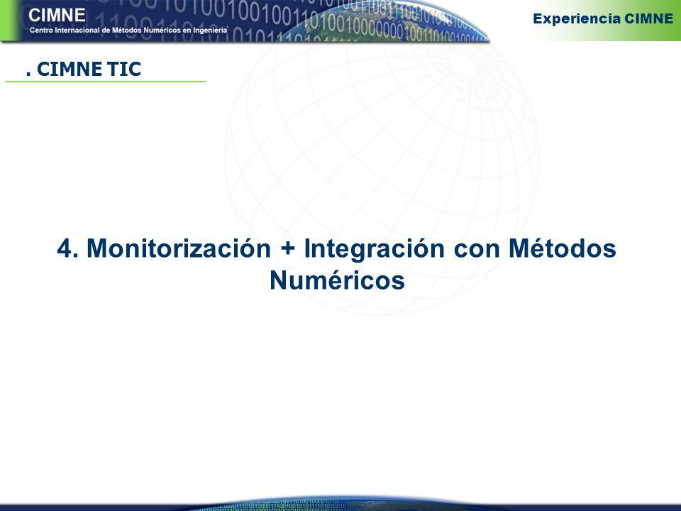 4. Monitorización + Integración con Métodos Numéricos