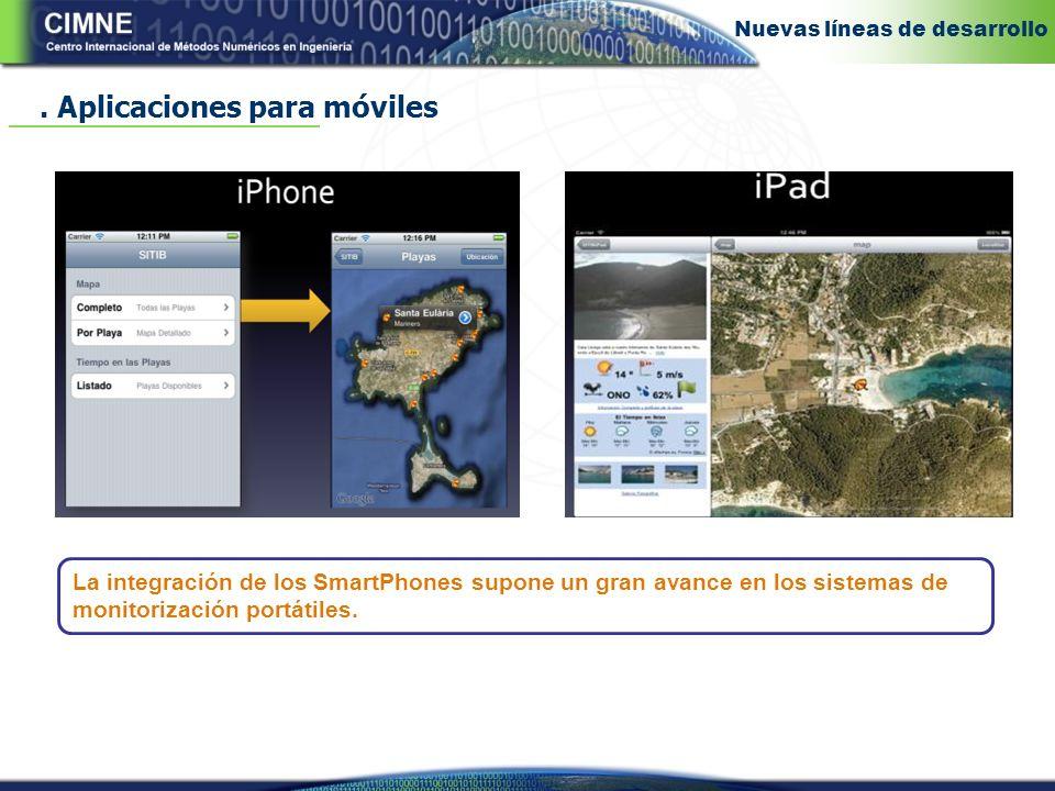 . Aplicaciones para móviles