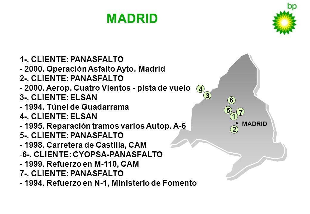 - 2000. Operación Asfalto Ayto. Madrid 2-. CLIENTE: PANASFALTO