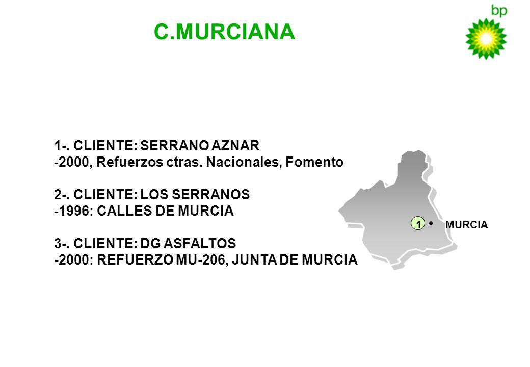 C.MURCIANA 1-. CLIENTE: SERRANO AZNAR