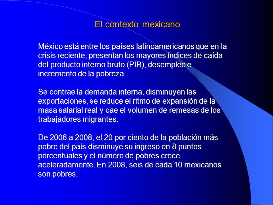 El contexto mexicano