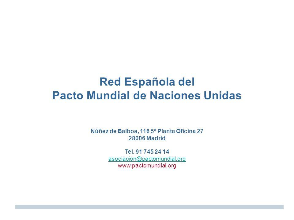 Red Española del Pacto Mundial de Naciones Unidas