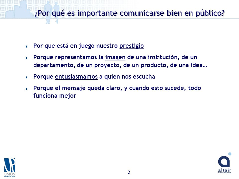 ¿Por qué es importante comunicarse bien en público