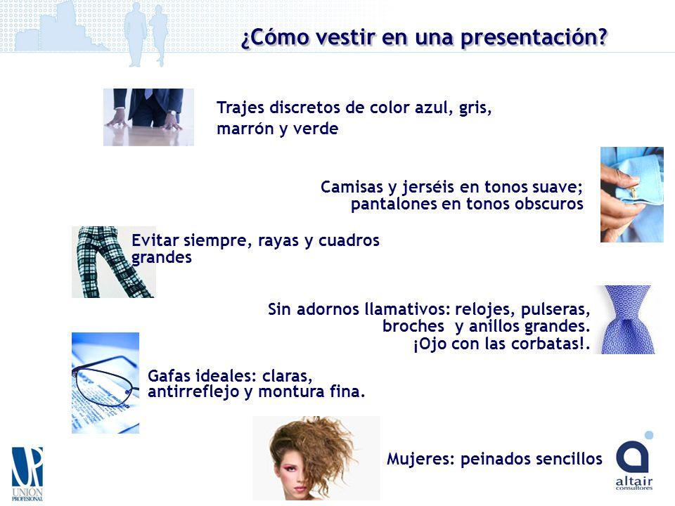 ¿Cómo vestir en una presentación