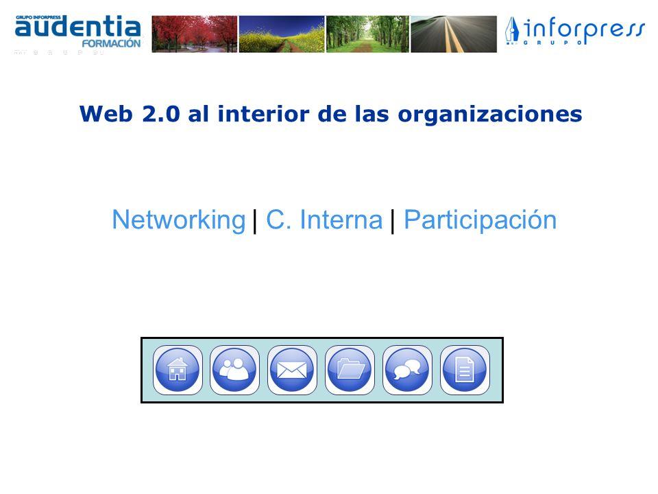 Web 2.0 al interior de las organizaciones