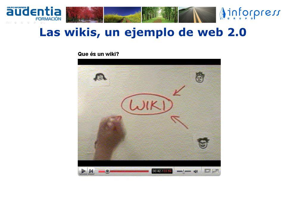 Las wikis, un ejemplo de web 2.0