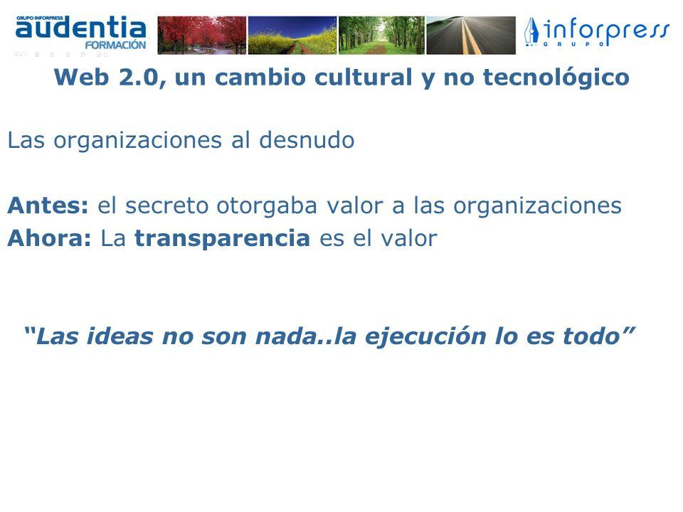 Web 2.0, un cambio cultural y no tecnológico