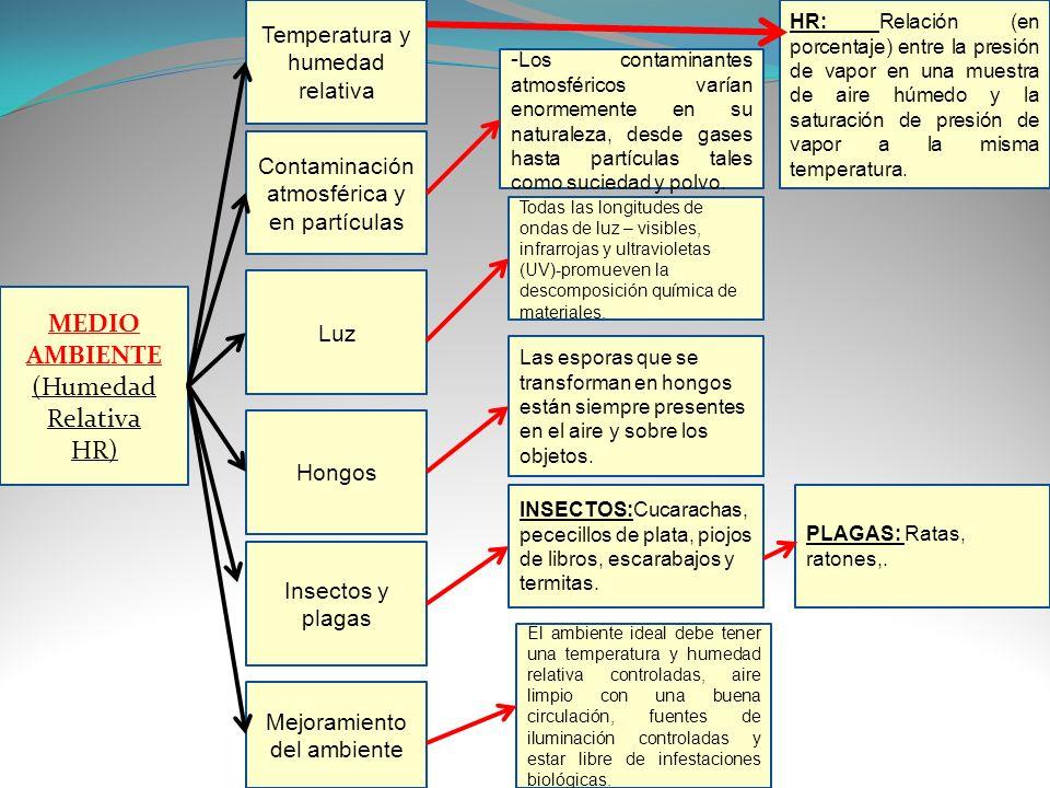 Servicio nacional de aprendizaje sena ppt descargar - Humedad relativa ideal ...