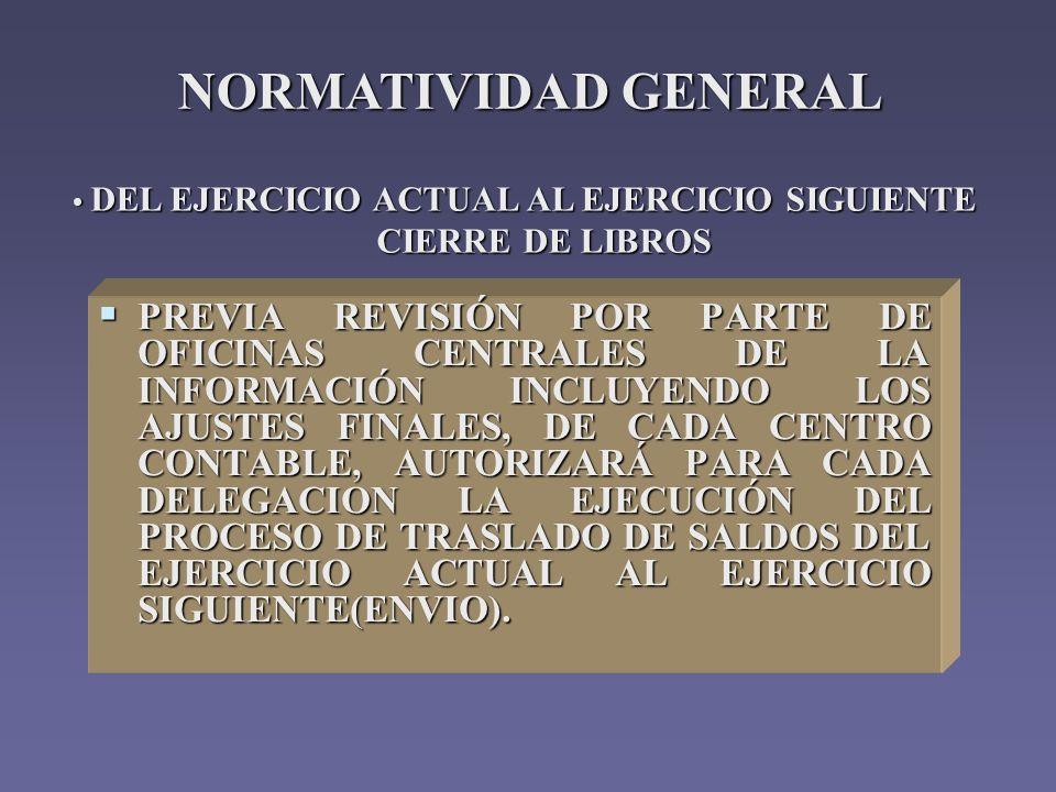 Siprec 2003 centros guia de operacion del modulo contable - Centros unico oficinas centrales ...